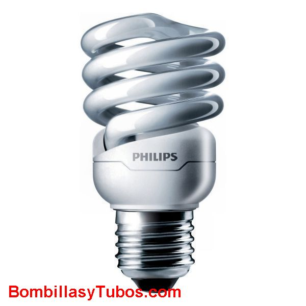 PHILIPS Tornado espiral 12W E27 2700k - Lampara bajo consumo Tornado espiral  12w e27  2700k. Luz cálida