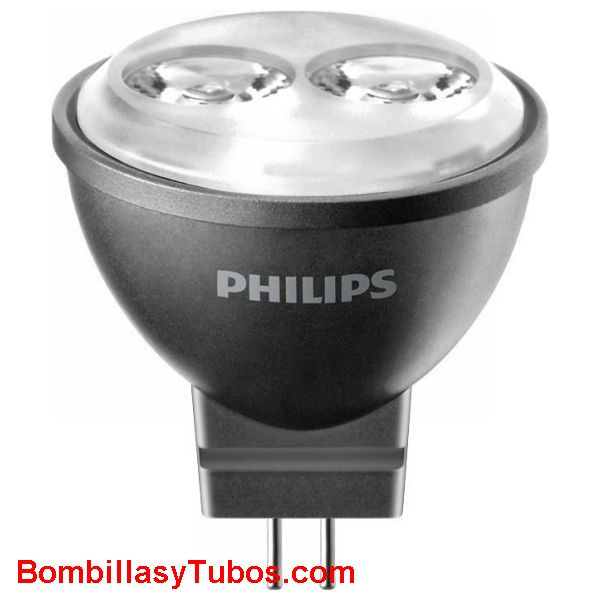 Master LedLamp SPOT 12v 4w 2700k 24º - Lampara Led Philips MR11 12v 4w 2700k gu4