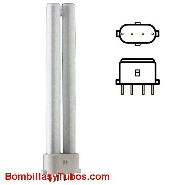 Lampara COMPACTA S4 9w/840 4000k 2G7