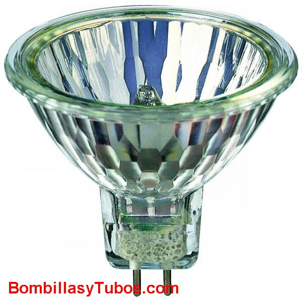 Bombilla Halogena MASTERLINE 45w 8D 12v gu5,3 - Halogena dicroica MR16 PHILIPS MASTERLINE   45W 8º