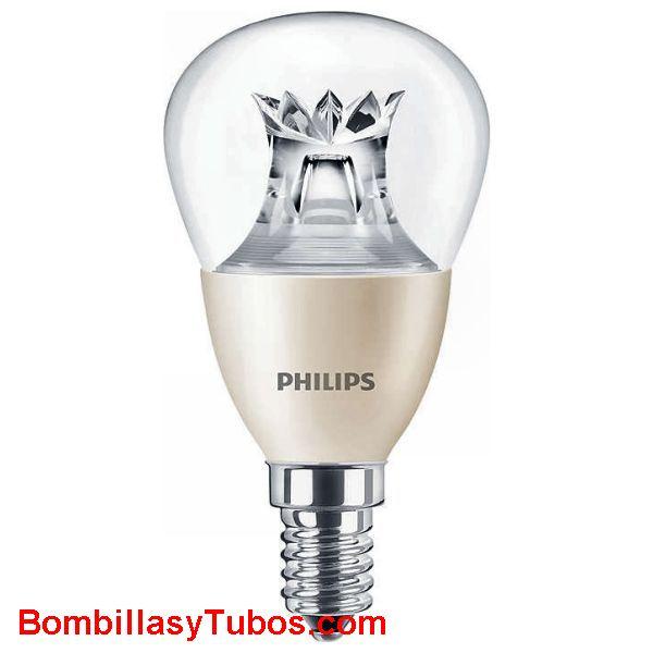 Philips Master Ledesferica DimTone 4-25w e14 827 - Lampara Philips led DimTone 4-25w e14 2700k