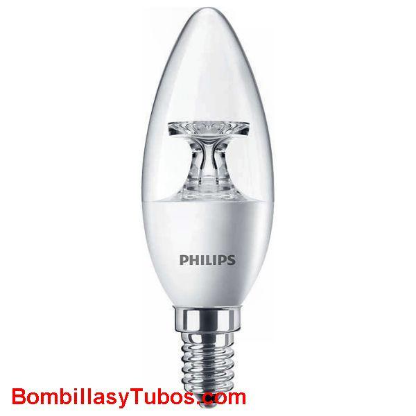 Philips Corepro Ledvela clara 230v 5.5-40w 827 - Lampara Philips led Corepro 230v 5.5-40w 2700k clara