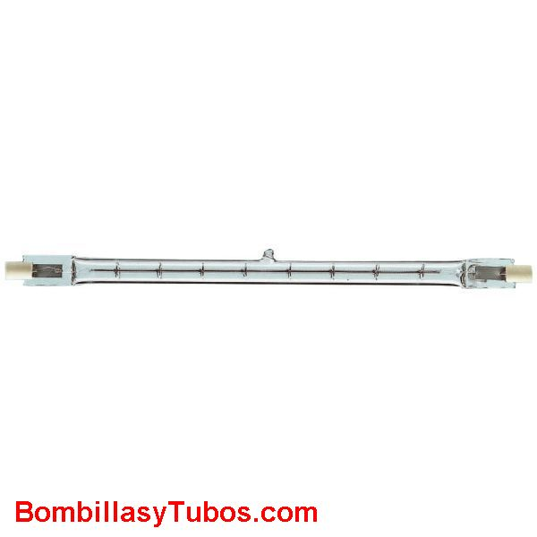 Bombilla halogena lineal 1500w 250mm r7s