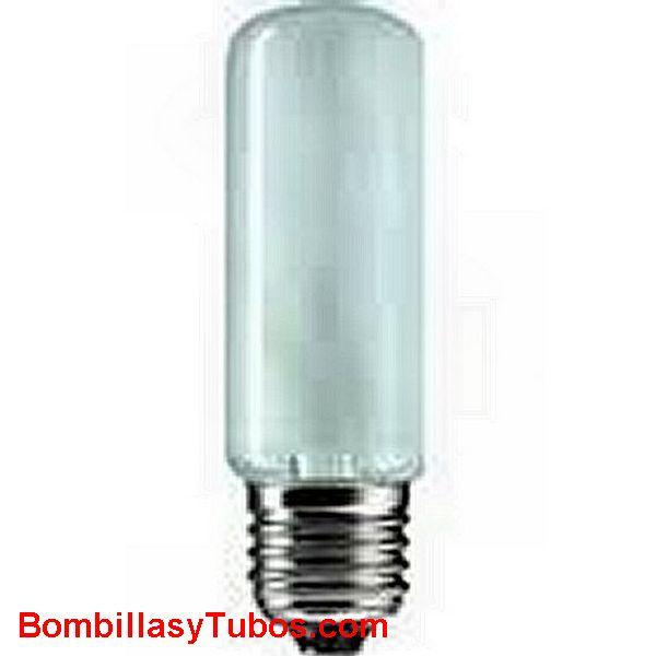 Bombilla Halogena e27 T32 230c 100w mate - Halogena tubular t32 230v 100w Mate e27
