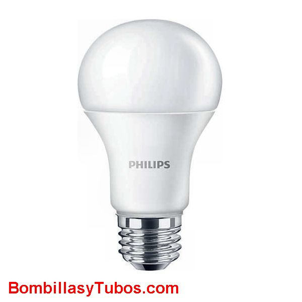PHILIPS Corepro led  10w-75w E27 4000k - Philips Corepro led 10w-75w E27 4000k  Lampara de led Philips de forma clasica