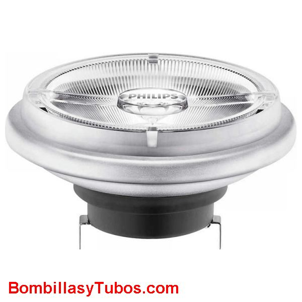 Philips Master ledspot R111 12v 15-75w 930 40° - Lampara led AR111 Philips 12v 15w-75w 3000k 40°