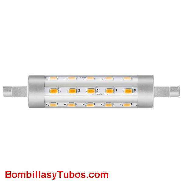 Philips corepro Lineal 78mm 6.5-60w 830 - Lampara Philips led Lineal 78mm r7s 6.5w-60w 3000k