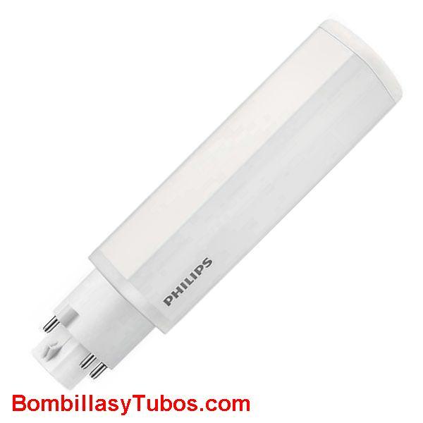 Philips Corepro Led PL-C 9w 830 4-pin - Lampara Philips Led PL-C  9w 4p 3000k luz calida neutra