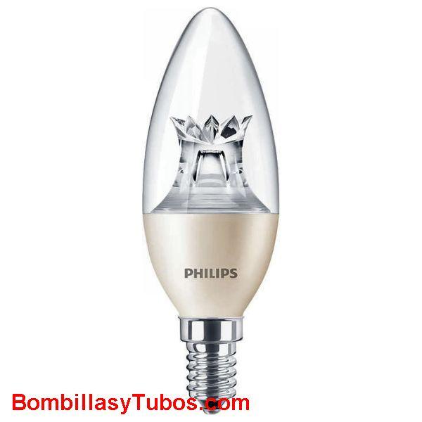 Philips Master Ledvela DimTone 230v 8-60w clara - Lampara Philips Ledvela Dimtone 8-60w clara