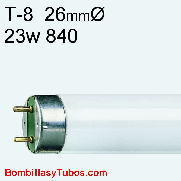FLUORESCENTE T8 23w/840 - Fluorescente 23w serie 80   referencias:lumilux de lux t8 fh. fh  he, master tl 8 he, luxline t8, bonalux t8