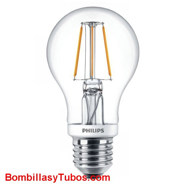 Philips ledbulb clasica  5-40w 827 - Lampara Philips ledbulb clasica 5-40w 2700k