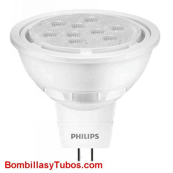 Philips corepo Ledspot LV 12v 8.2-50w 827 36° - Lampara Philips MR16 12v 8.2-50w 2700k 36°