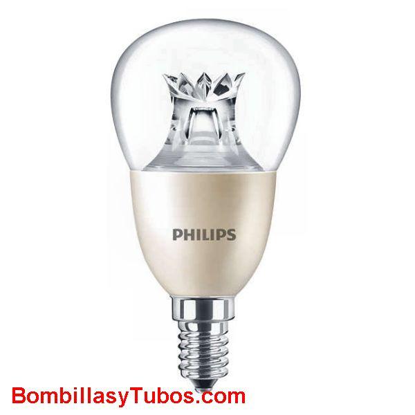 Philips Master Ledesferica DimTone 230v 8-60w e14 827 - Lampara Philips led DimTone 230v 8-40w e14 2700k