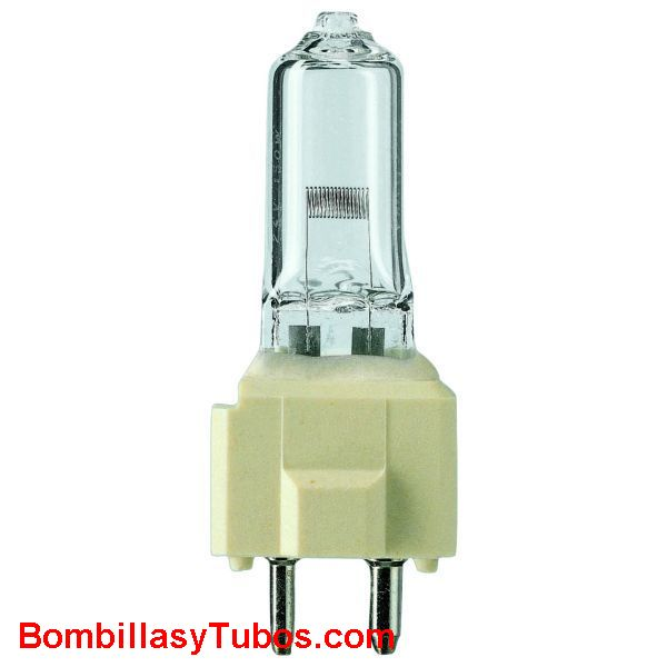 Bombilla PHILIPS 5974 24v 150w GZ9.5 - Lampara PHILIPS 5974 24v 150w  GZ9.5  3400ºK 50 horas