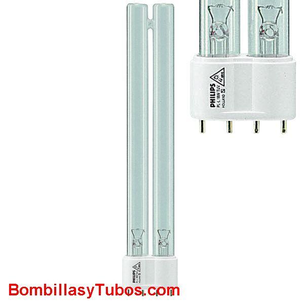 Lampara Fluorescente  PL 24w 4P GERMICIDA 32cm - Lampara fluorescente COMPACTA PL 24w 4p germicida   2g11   ultravioleta C