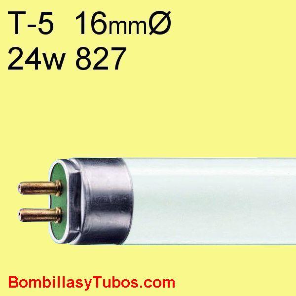 FLUORESCENTE T5 24w/827 - MASTER TL5 HO 24w/830  55cm