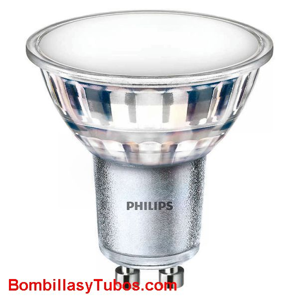 Philips ledspot Gu10 Clasica 230v 5-50w 830 120° - Lampara Philips Ledspot Clasica 230v 5-50w 830 120° 520 lumenes