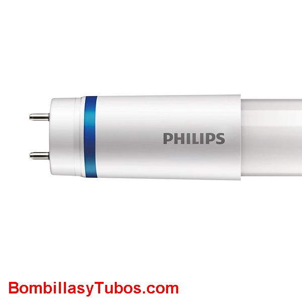 Philips T8 Led 60cm HO alto flujo 8w 1000 lumenes 3000k. Reemplazo 18w - Tubo philips led T8 60cm 8w 6500k 1050 lumenes para sustitucion del fluorescentes de 18w