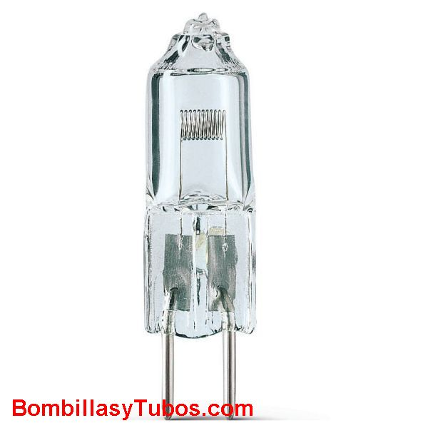 Bombilla PHILIPS 7027  12v 50w G6.35 50 horas - Lampara Halogena PHILIPS 7027 12v 50w