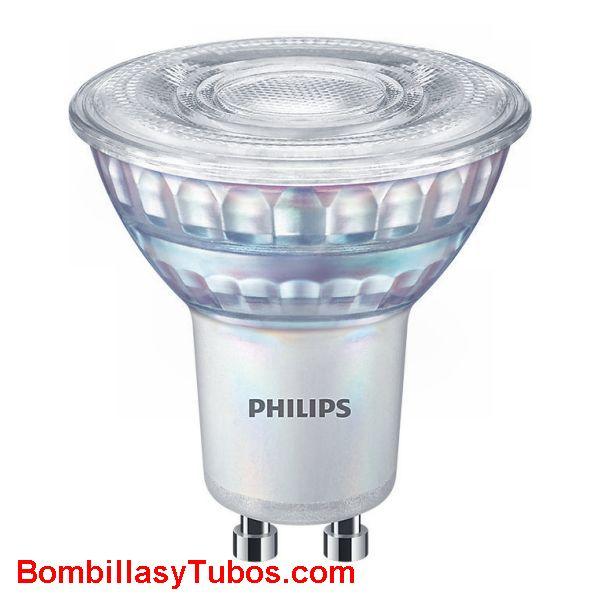 Bombilla Led Philips Gu10 6,2w-80w 610 lumenes 36° 6500k