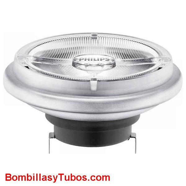 Philips Ledspot Ar111 G53 12v 20-100w 827 40° - Lampara Philips AR111 G53 20w-100w 2700k 40°