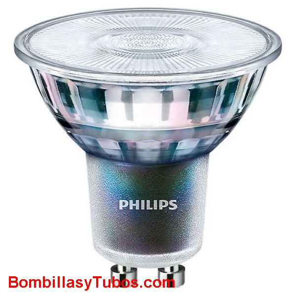 Philips MV Value Gu10 4.9-50w 827 60° - Lampara Philips Gu10 Value 4.9-50w 2700k 60°