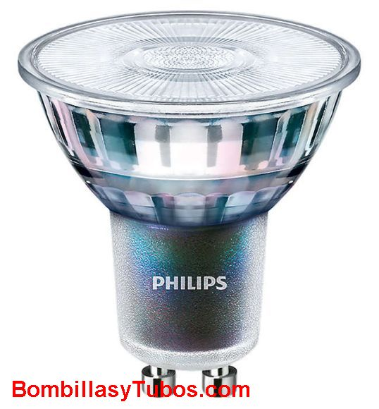 Philips MV Value Gu10 230v 4.9-50w 830 60° - Lampara Philips Gu10 Value 230v 4.9-50w 3000k 60°
