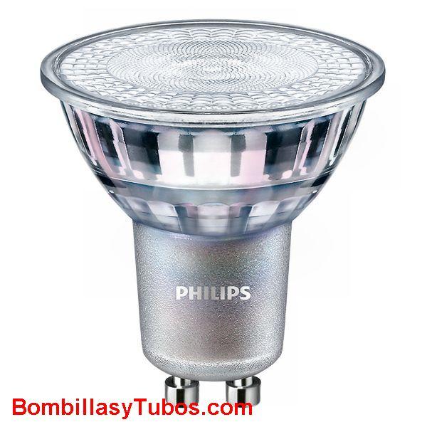 Bombilla Philips gu10 7-80w 840 36° 610 lumenes - Lampara led Gu10 7w-80w 36 grados 4000k blanco frio neutro ledspot 610 lumenes