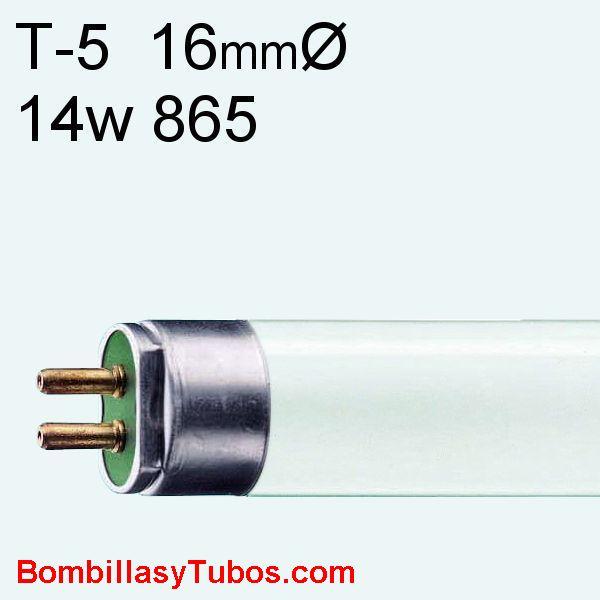 FLUORESCENTE T5 14w/865 - MASTER TL5 HE 14w/865  55cm