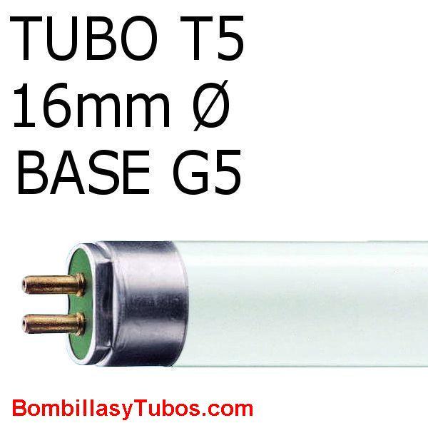 FLUORESCENTE T5 80w/830 145cm 3000k - Tubo fluorescente T5 HO 80w/830 3000k calido neutro