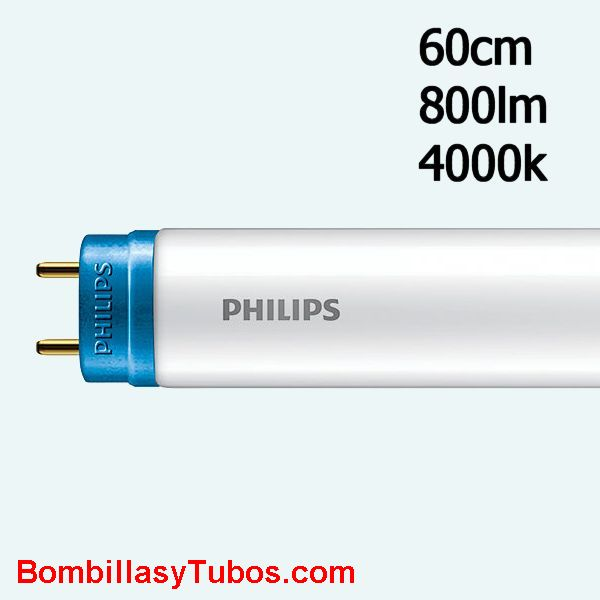 Fluorescente led Philips T8 8w 840 60cm 800 lumenes