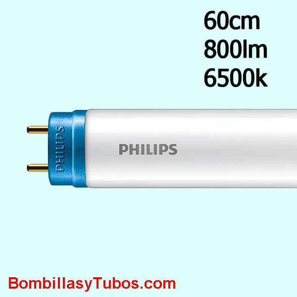 Fluorescente led Philips T8 8w 865 60cm 800 lumenes