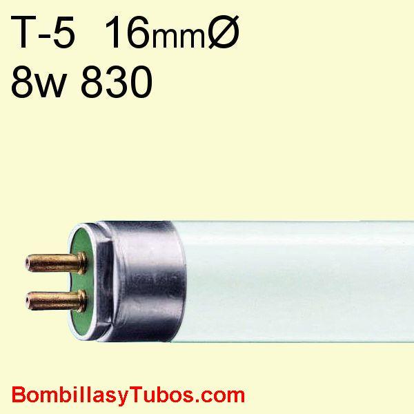 FLUORESCENTE T5 8w/830 - MASTER TL MINI  8w/830  29cm