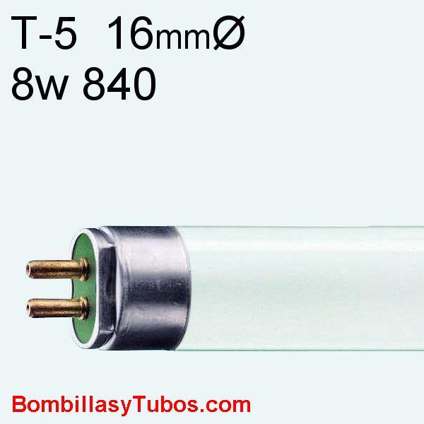 FLUORESCENTE T5 8w/840 - MASTER TL MINI  8w/840  29cm