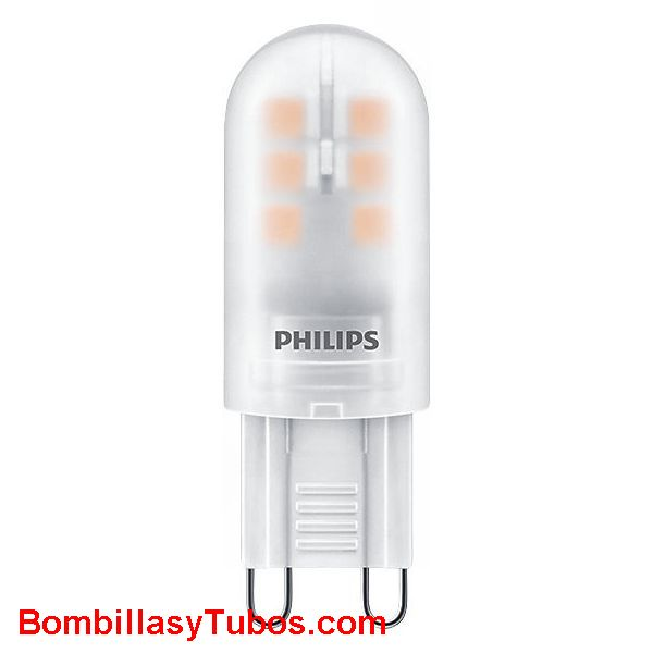 Bombilla Led Philips G9 2.5-25w 830 250 lm 3000k - Lampara Led Philips G9 2,5w-25w 250 lumenes 3000k luz calida neutra