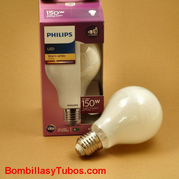 Philips lampara Led A67 230v 17,5w-150w 2700k