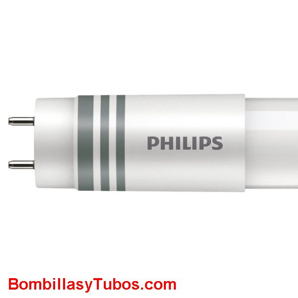 Philips T8 Led 120cm universal 18w 2000 lumenes 6500k. Reemplazo 36w - Tubo philips led Corepro Universal T8 120cm 18w 6500k 2000 lumenes para sustitucion del fluorescentes de 36w.
