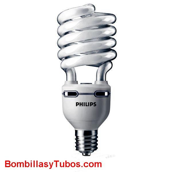 PHILIPS Tornado espiral  75w e40 2700k - Lampara bajo consumo Tornado Alta Potencia  75w e40  2700k. Luz cálida