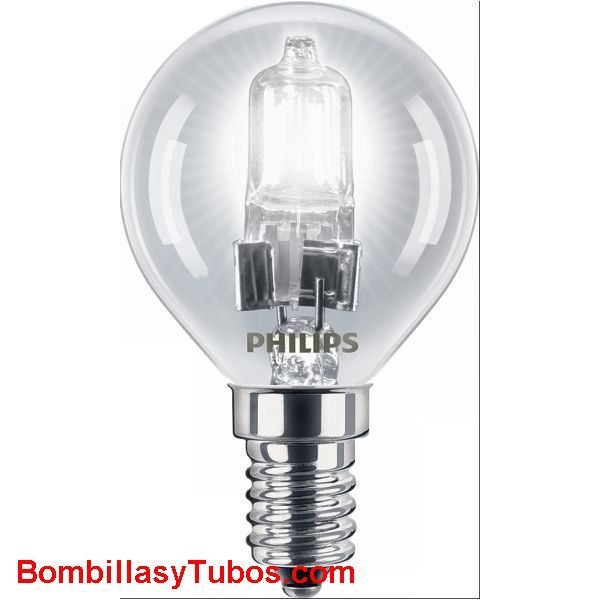 Philips ECO HALOGEN ESFERICA E14 42w