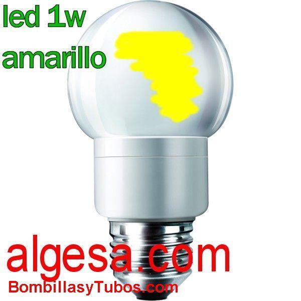 ACCENTCOLOR OD 1W AMARILLO - ACCENTCOLOR OD 1W E27 AMARILLO