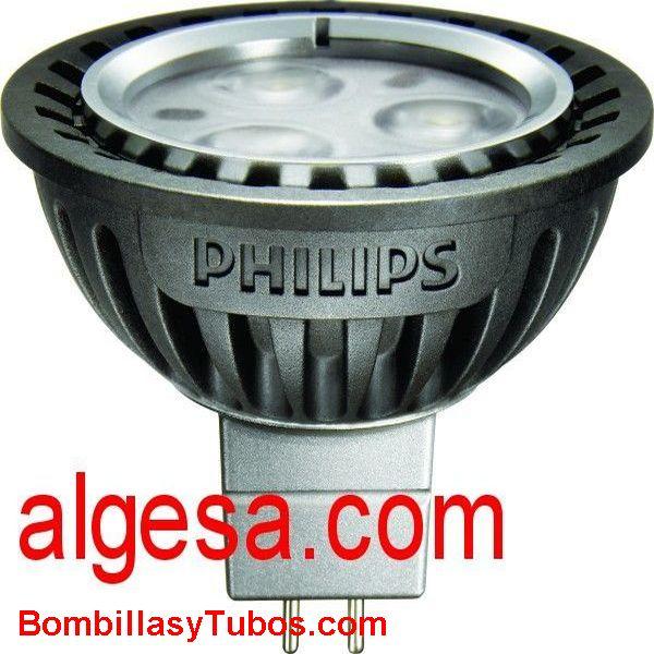 MASTER LED SPOT 4W 24º 2700ºK - LAMPARA LED PHILIPS MR16  12V 4w 2700K 24º