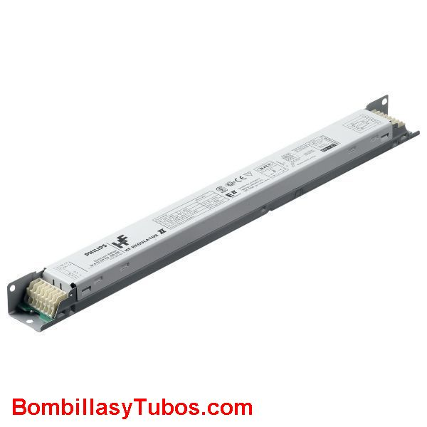 HF-R TD 254 TL5 E II - BALASTO HF-REGULATOR TOUCH & DALI TL5  HF-R TD 254 TL5 E II  Para 2 tubos T5  54w  Medidas: 360x30x22m  Codigo:90963330. 909633xx