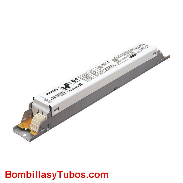 Balasto philips HF-B T8 1/2x36w