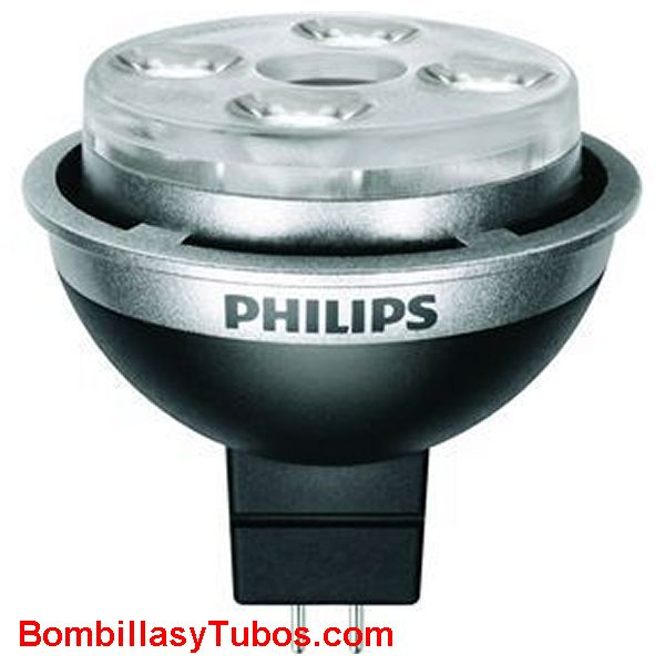 Bombilla Led Philips MASTERLED 4W Spot 12V GU5,3 Regulable 2700ºK Bombillas