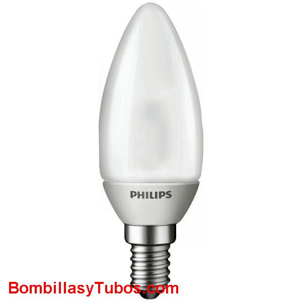 PHILIPS LED vela mate 3W - Lampara led vela mate  3 w.  Ilumina como 15w de incandescencia