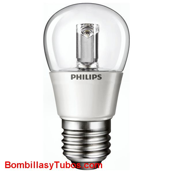 PHILIPS Led esferica E27 clara 3W - LAMPARA LED ESFERICA E27 CLARA  3 w.  Ilumina como 15w de incandescencia