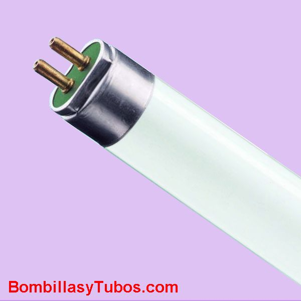 FLUORESCENTE T5 15w/10 ACTINIC BL 30cm - Lampara fluorescente ultravioleta A,  UV-A con pico de emision en 368 naometros