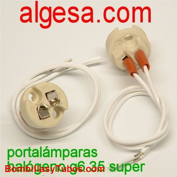 PORTALAMPARAS HALOGENO G6.35 SUPER