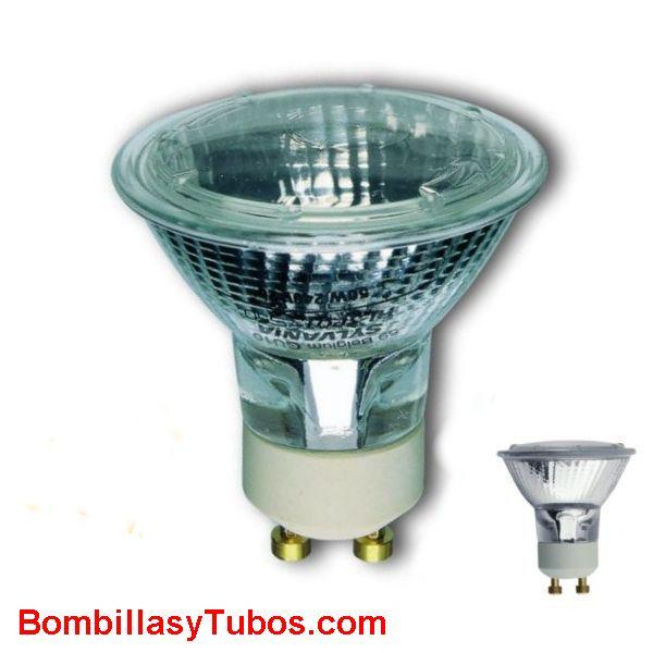 Lampara Sylvania PAR 16 HI-SPOT GU10 230v 50W 50º - lampara halogena  PAR 16 HI-SPOT S50 GU10 230v 50W 50º